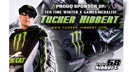To Order You Tucker Hibbert Race Replica Graphics Kit For Artic Cat